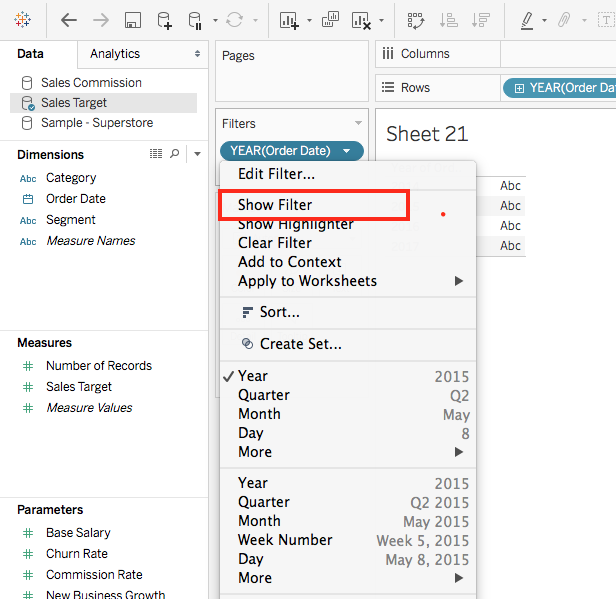 Formatting Tableau Filters! – Viable Insights